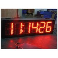 Buy cheap High Brightness 7 segmen led gas price signs with wireless IR remote control , long Life span from wholesalers