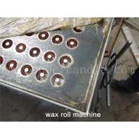 Buy cheap Textile Wax Ring Machine, Wax Roll Moulding Machine, Wax Ring Molding Machine, Wax Roll Production Mold from wholesalers