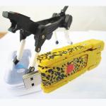 Buy cheap 8GB Transformer USB Flash Drives, Robot Dog USB Memory Logo Print from wholesalers