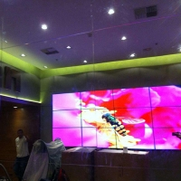 Buy cheap RS232 1.8mm Bezel 55 500cd/m2 Video Wall Lcd Monitors from wholesalers