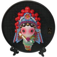 Buy cheap Chinese Gift Home Adornment Circular Characters Clay Sculpture from wholesalers