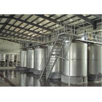 Buy cheap 100L - 8000L Capacity Sanitary Mixing Tanks Stainless Steel Apple Juice Tanks product