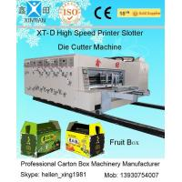 Buy cheap Printing Slotting Automatic Corrugated Carton Box Making Machine / Production Line from wholesalers