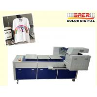 Buy cheap High Speed T Shirt Printing Machine / Digital Flatbed Printer With 8 Ricoh Heads from wholesalers