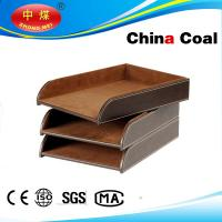 Buy cheap Popular Crafts Leather Document Tray product