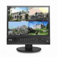 Buy cheap 17-inch 4CH H.264 LCD/DVR Combo with Mobile Remote View, Supports Full D1 Real-time and E-mail Alarm from wholesalers
