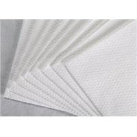 Buy cheap 100% Tencel Spunlace Nonwoven Fabric Width Customised White Color For Wiping Cloth from wholesalers