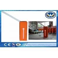 Buy cheap Access Road Car Park Barriers , Vehicle Barrier Gates With Led Signal Lights from wholesalers