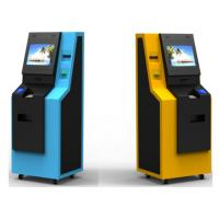 Buy cheap Subway Recycling Kiosk Coin and Cash ATM Machine With Fan Fold Thermal Printer from wholesalers