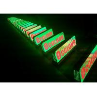 Buy cheap Android Based Control System rgb Taxi Topper Led Sign With E10 Control Card from wholesalers