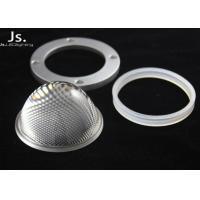 30-100w Integrated Chip Glass Light Lenses4mm Edge Thinckness For High-Bay Lighting