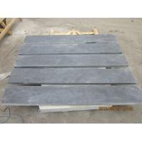 Quality Honed Blue Limestone Floor Tiles , Natural Stone Kitchen Wall Tiles 2800 Kg/M3 for sale