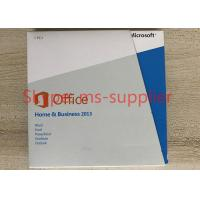 Buy cheap Download Microsoft 2013 Home And Business Product Key , No Language Limitation from wholesalers
