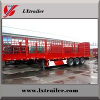 Buy cheap Chinese famous new High fence cargo semi trailer, bulk goods transport truck trailer from wholesalers