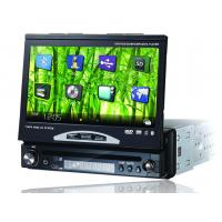 Buy cheap  Detachable Panel 7 Inch 1 Din Touch Screen Car DVD Player with / IPOD / Bluetooth product