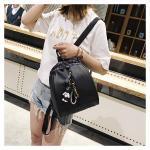 Buy cheap Women and ladies PU backpack, Handbag Tote Bag Lady Sling Clutch Bag Shoulder Bag, black,dark gray from wholesalers