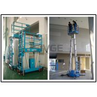 Two Person Mobile Elevating Work Platform 10 Meter Platform Height For Factories