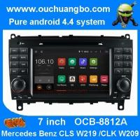 Buy cheap Ouchuangbo Mercedes Benz w209 w219 audio DVD gps stereo android 4.4 supoort cabus MP3 product