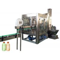 Buy cheap Beverage Carbonated Drink Filling Machine For PET Plastic Bottle , Low Running Noise from wholesalers