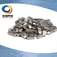 Buy cheap OEM ODM Tungsten Carbide Saw Tips Nickel Coating Surface Treatment from wholesalers