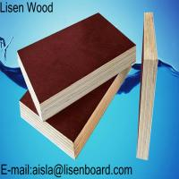 Buy cheap 18mm black Film Faced Plywood / WBP phenolic concrete formwork plywood / Marine plywood construction boards price from wholesalers