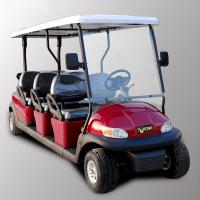 Buy cheap Park 6 Seater Golf Cart Electric Sightseeing Car With 3.7kw KDS Motor product