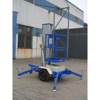 Buy cheap One Mast 8m Aerial Work Platform , 125Kg Towing type from wholesalers