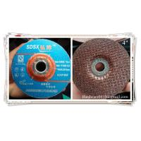 "Buy cheap 4""x6x16mm Abrasive grinding wheel for cast iron from wholesalers"