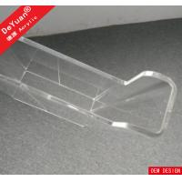 Buy cheap A4 Acrylic Brochure Holder Outdoor Clear Flyer Stand RHOS For Office from wholesalers