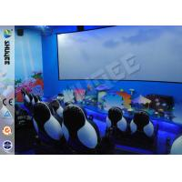 Buy cheap Customized 5D Movie Theater Equipment With Bubble / Smog Special Effects product