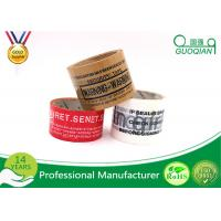 Buy cheap Custom Clear Bopp Adhesive Offer Printed Packing Tape Roll 18mic - 38mic from wholesalers