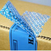 Buy cheap Environmental Destructive Warranty Void Tamper Evident label stickers non transfer VOID OPEN label no residue sticker from wholesalers