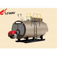 Buy cheap Original Italy Burner Oil Fired Hot Water Boiler , Oil Fired Heating Boilers Large Heating Surface from wholesalers