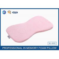 Buy cheap Non-Toxic Breathable Memory Foam Baby Pillow Head Support ,  Jacquard Velour Cover from wholesalers