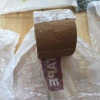 Buy cheap Brown Petroleum Tape For Wrapping Pipes And Fittings Standard AWWA C 217 EN product