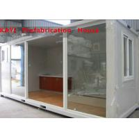 Buy cheap Combined Custom Container House , Lightweight Single Container House With Bedroom from wholesalers