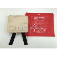 Buy cheap Flame Resistant Emergency Fire Blanket Moisture Proof Satin / Plain / Twill Weaving from wholesalers
