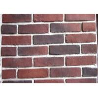 Buy cheap Anti Water Outdoor Fake Brick Wall Covering , Painting Exterior Brick Veneer from wholesalers