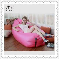 Quality wholesale custom printed lamzac hangout sofa bed inflatable sleeping bag for sale