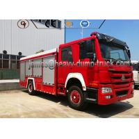 Buy cheap Factory Sale 4X2 Sinotruk 8000L Water and Foam Tanker Firefighter Truck from wholesalers