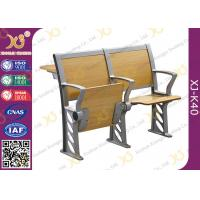Buy cheap Folded Three Person College Desk And Chair Set For Student from wholesalers