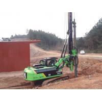 Hydraulic Piling Rig Machine , Foundation Drilling Equipment 72 M / Min Main Winch Line Speed TYSIM KR90C