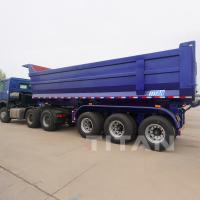 Buy cheap End dump semi trailer prices dumping trailer dumper trailer dump trailers for sale from wholesalers