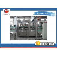Soda Aluminum Can Filling Machine Full Automatic 5.5kw 6000CPH Energy Saving