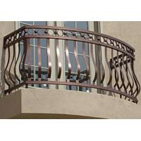 Buy cheap wrought iron balcony railing designs / aluminum rail for balcony / forged iron balcony railings designs from wholesalers