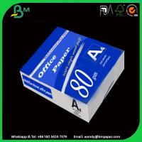 Buy cheap 100% Good Feedback Custom Design Cost-Effective White A4 Paper 80Gsm product