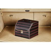 Buy cheap Small Size Foldable Car Trunk Organizer Waterproof Pu Leather 34 * 32 * 30cm from wholesalers