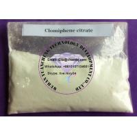 Buy cheap 50-41-9 Anti Estrogen Steroids Clomiphene citrate powder for male forum from wholesalers