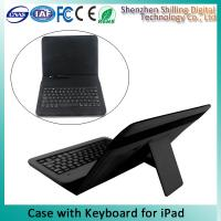 Buy cheap Dust - Proof iPad Keyboard Leather Case Easy To Connect ODM & OEM product