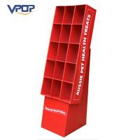 Buy cheap Red Easy Assembling Cardboard Dump Bins New Design For Supermarket Promotion from wholesalers